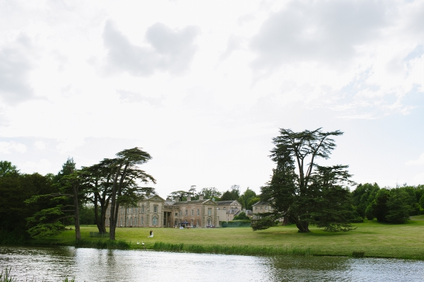 The view over the lake of Compton Verney
